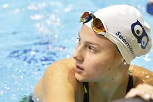 Česká plavkyně Barbora Seemanová.