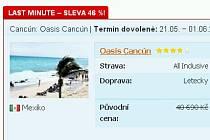 Na dovolenou do Mexika se dostanete přes www.invia.cz téměř s padesátiprocentní slevou.