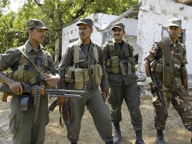 Bojovníci Tamilských Tygrů mají na svědomí mnoho lidských životů.