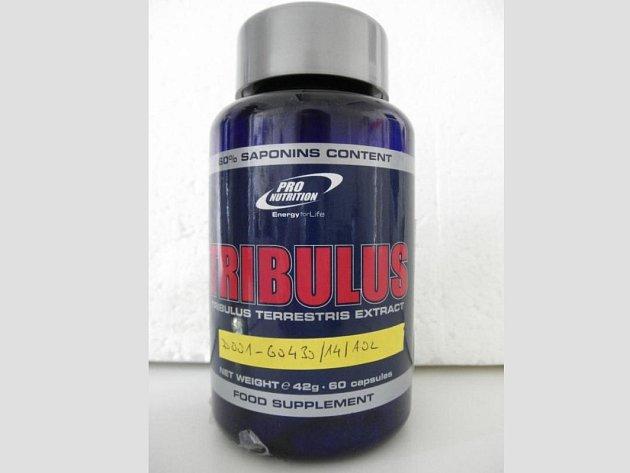 SZPI našla v potravinovém doplňku Tribulus 60cps látku THC