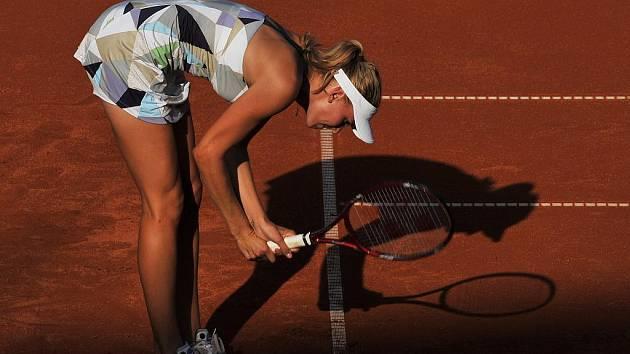 Ani na pražské Štvanici nenašla bývalá sedmá hráčka světa Nicole Vaidišová ztracenou formu, když vypadla v 1. kole.