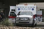 Sanitka před pohotovostí ve Phoenixu