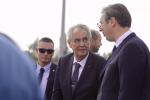 Miloš Zeman a srbský prezident Aleksandar Vučić