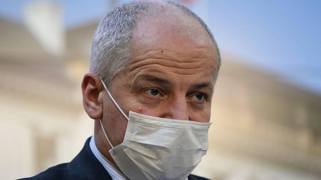 Předseda Ústředního krizového štábu a náměstek ministra zdravotnictví Roman Prymula