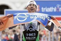 Vanessa Fernandesová, 22letá Potrugalka, co už vyhrála 17 závodů Světového poháru i evropský titul v triatlonu.