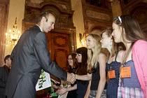 Slavnostní předání ocenění Ekoškola proběhlo 20. června v Praze, v budově Senátu.