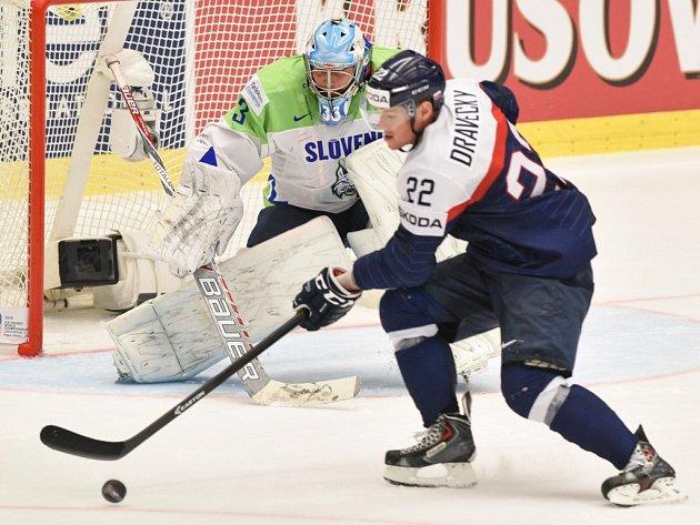 Slovensko vs. Slovinsko: Vladimír Dravecký a jeho šance