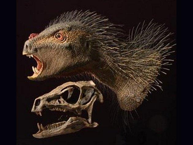 Pozůstatky staré asi 100 až 200 milionů let ukazují na existenci živočicha, kterého experti popsali jako křížence mezi ptákem, dikobrazem a upírem.