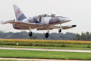 Letoun L-39 českého výrobce Aero Vodochody.