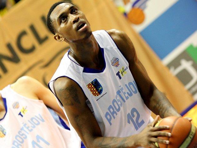 Basketbalista Prostějova Jamar Smith.
