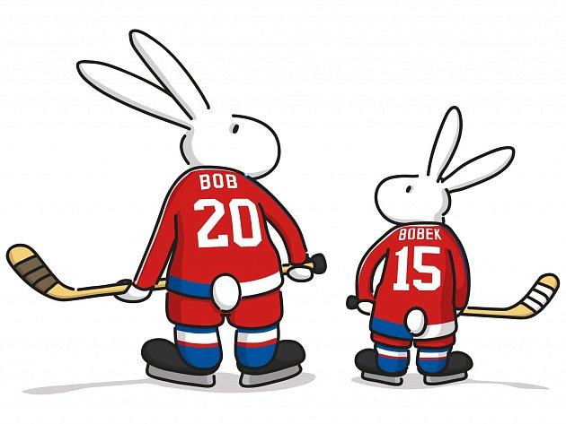 Maskoti pro MS v hokeji 2015