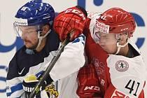 Juhamatti Aaltonen z Finska (vlevo) a Jesper Jensen z Dánska.