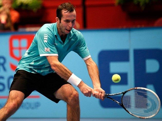 Radek Štěpánek na turnaji ve Vídni.