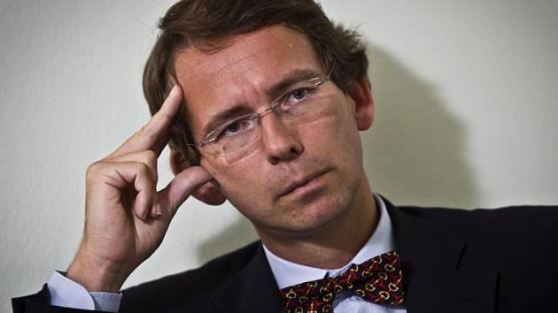 Petr Drulák, 1. náměstek ministra zahraničních věcí.