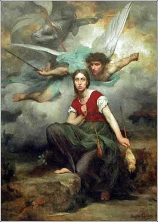 Tajemné hlasy přikázaly Janě vydat se ke králi a vysvobodit Francii ze spárů Anglie