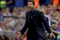 Trenér Atlética Diego Simeone