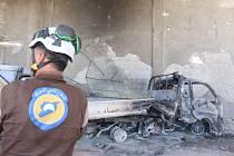 Sebevražedný výbuch v syrském Damašku