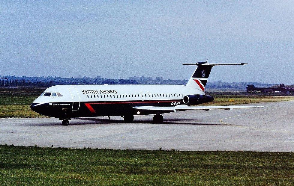 Letadlo britských aerolinek se stalo dějištěm mimořádné události v dějinách letectví