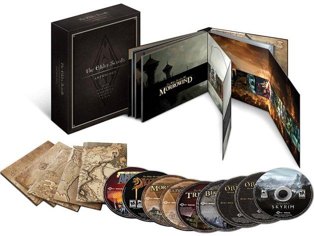 Speciální edice všech dílů počítačové hry Elder Scrolls.