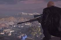 Počítačová hra Hitman.