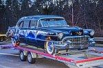 Na dálnici v Německu havaroval cadillac amerického prezidenta Eisenhowera