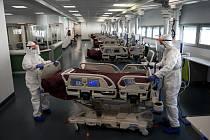 Nemocnice na severu Itálie