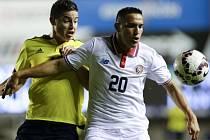 Kolumbie zdolala Kostariku