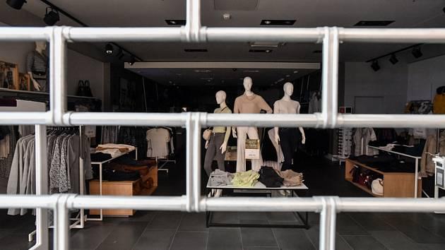 Uzavřený obchod. Ilustrační snímek