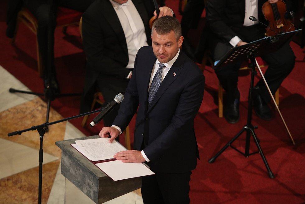 Slavnostní otevření Národního muzea v Praze. Peter Pellegrini.