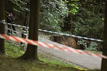 V pražské Stromovce se v podvečer sesunula půda, nikdo nebyl zraněn.