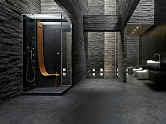 luxusní parní sprchový box Omega