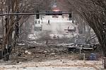 Výbuch v centru Nashvillu