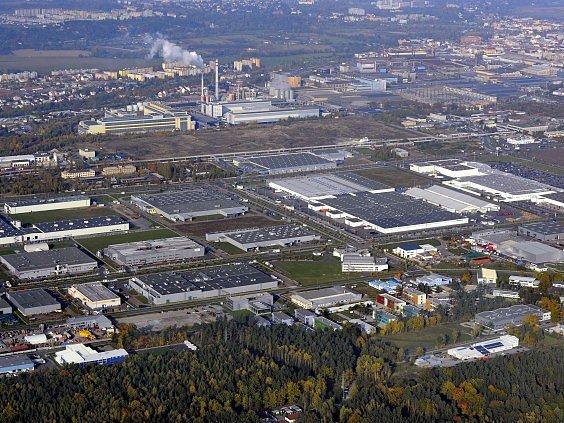 plzeňská průmyslová zóna Borská pole