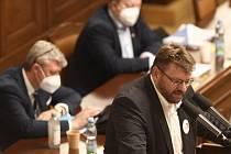 Nezařazený poslanec Lubomír Volný.