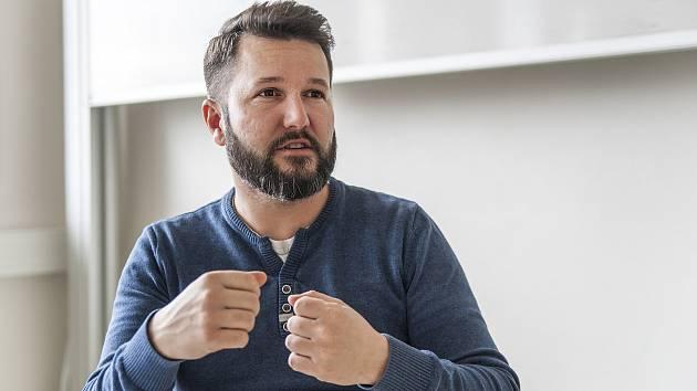 Rozhovor s Janem Stávkem na ČZU. 24.1.2018