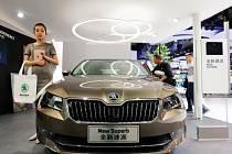 Škoda Superb v Číně