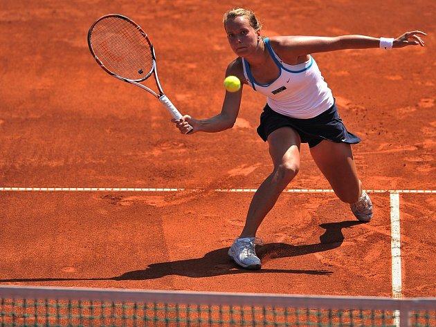 Barbora Záhlavová-Strýcová prohrála ve 2. kole na Štvanici s Carlou Suarezovou-Navarrovou.