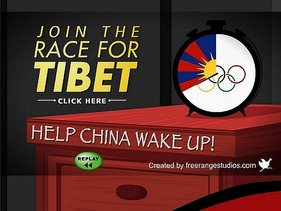 Klip, který podporuje Tibet, může zavirovat počítač