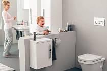 toaleta je důležitou součástí obytného prostoru