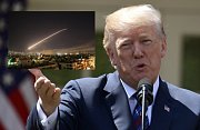 Donald Trump svolil k útoku na Sýrii.