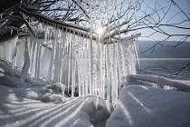 Mrazivé zimní počasí. Ilustrační foto.