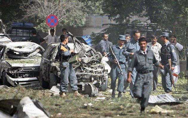 Na místě exploze začala okamžitě zasahovat policie
