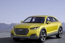Koncept Audi TT offroad.