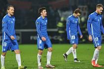 Zklamání. Fotbalisté Liberce prohráli s Marseille