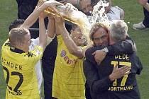 Dortmund slaví v německé bundeslize sedmý titul.