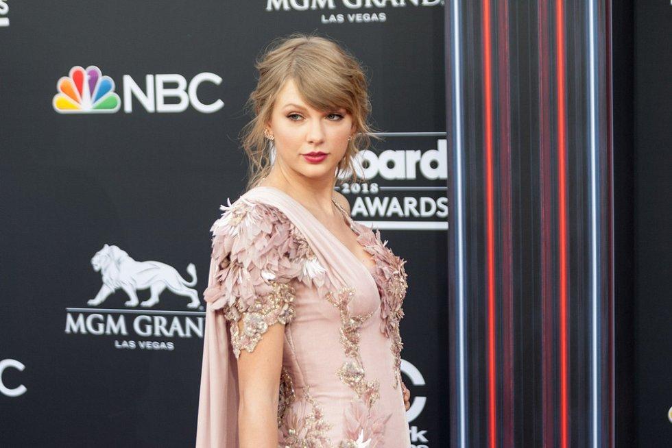 Americká zpěvačka Taylor Swift