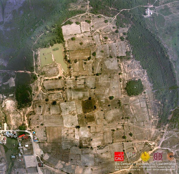 Starověké město Mahendraparvata