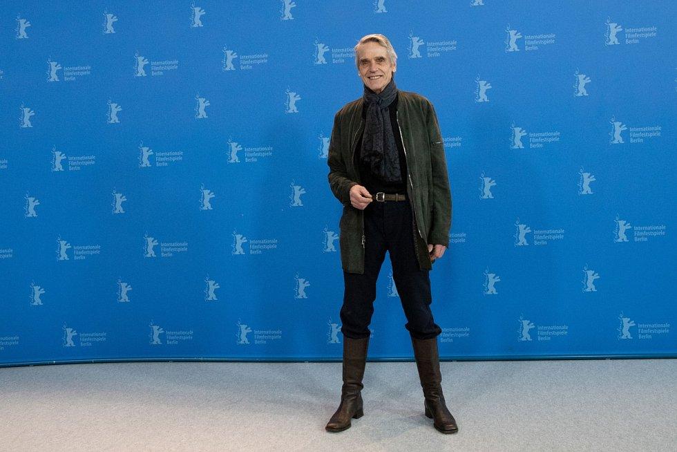 Jeremy Irons na festivalu Berlinale