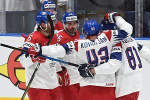 Česká hokejová reprezentace na MS v Bratislavě