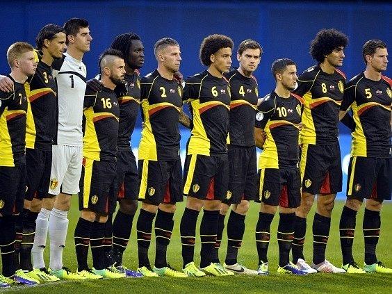 Národní tým Belgie se probojoval na mistrovství světa v Brazílii.